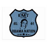 EMT Obama Nation Postcard