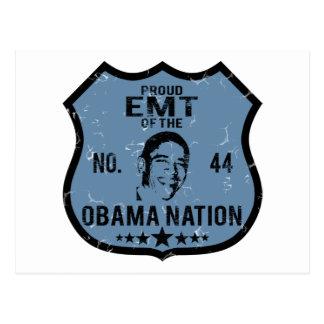 EMT Obama Nation Postcard