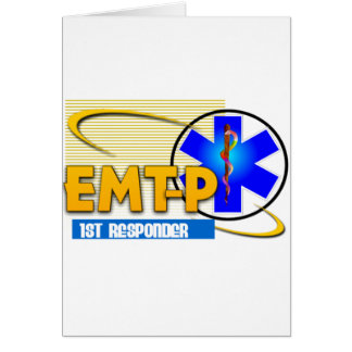 EMT-P 1ST RESPONDER EMERGENCY MED TECH PARAMEDIC CARD