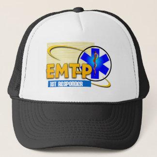 EMT-P 1ST RESPONDER EMERGENCY MED TECH PARAMEDIC TRUCKER HAT
