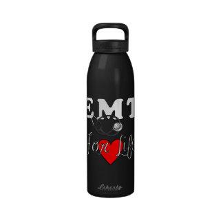 EMT para la vida Botellas De Agua Reutilizables