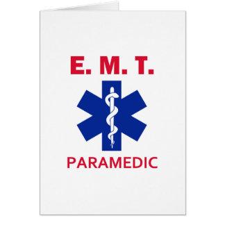 EMT Paramedic Card