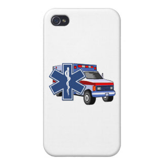 EMT Paramedic EMS Ambulance Cover For iPhone 4