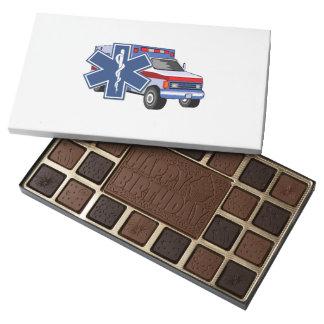 EMT Paramedic EMS Ambulance 45 Piece Assorted Chocolate Box