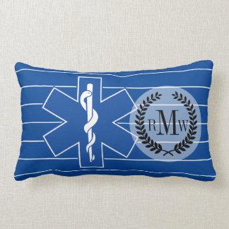 EMT Paramedic Symbol Custom Lumbar Pillow