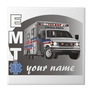 EMT personalizado Azulejo Cuadrado Pequeño
