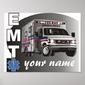 EMT personalizado Posters