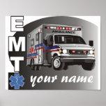 EMT personalizado Póster