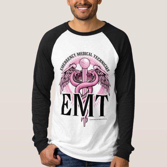 EMT Pink Caduceus T-Shirt