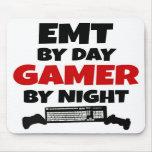 EMT por videojugador del día por noche Alfombrilla De Raton