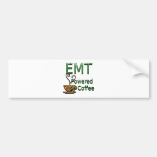 EMT Powered by Coffee Bumper Sticker