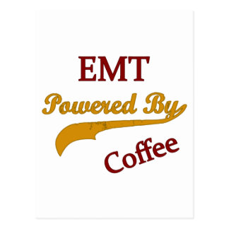 EMT Powered By Coffee Post Cards