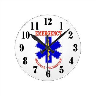 EMT ROUND CLOCK