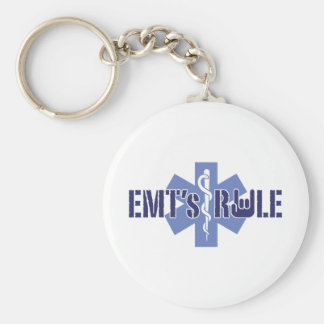 EMT s Rule Keychains