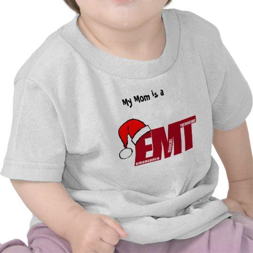 EMT SANTA - CHRISTMAS EMERGENCY MEDICAL TECHNICIAN SHIRT