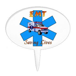 EMT Saving Livers Cake Topper