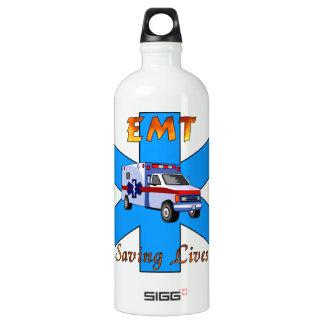 EMT Saving Lives Aluminum Water Bottle