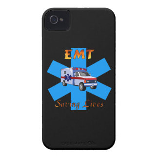 EMT Saving Lives iPhone 4 Cover