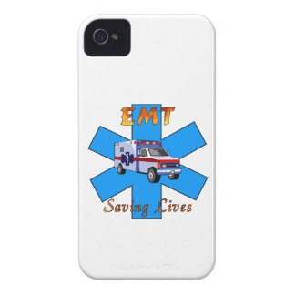 EMT Saving Lives iPhone 4 Case-Mate Cases