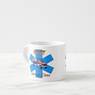 EMT Saving Lives Espresso Cup