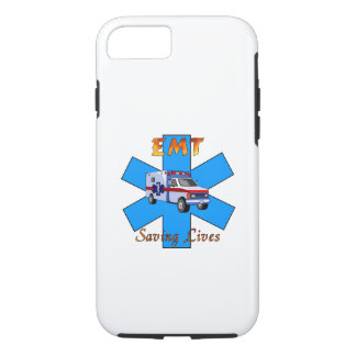 EMT Saving Lives iPhone 7 Case