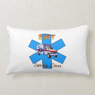 EMT Saving Lives Lumbar Pillow
