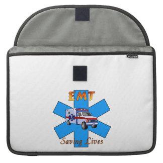 EMT Saving Lives MacBook Pro Sleeves