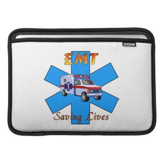 EMT Saving Lives MacBook Sleeves