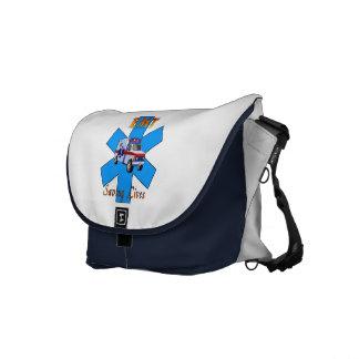 EMT Saving Lives Messenger Bag