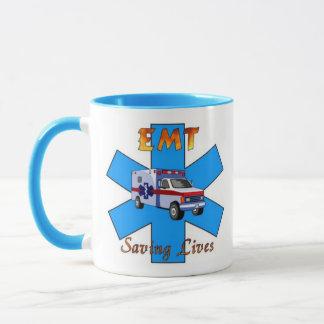 EMT Saving Lives Mug