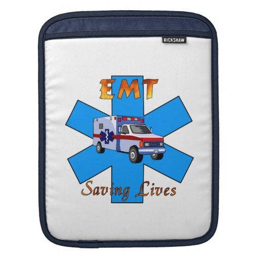 EMT Saving Lives Sleeve For iPads