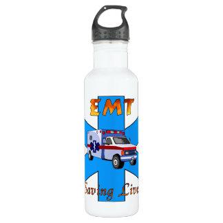 EMT Saving Lives Stainless Steel Water Bottle