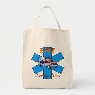 EMT Saving Lives Tote Bag