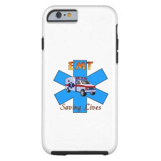 EMT Saving Lives Tough iPhone 6 Case