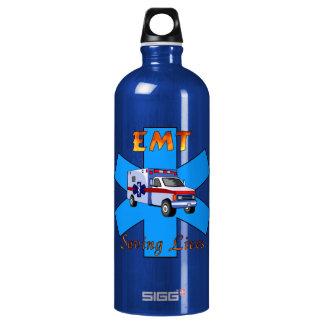 EMT Saving Lives Water Bottle