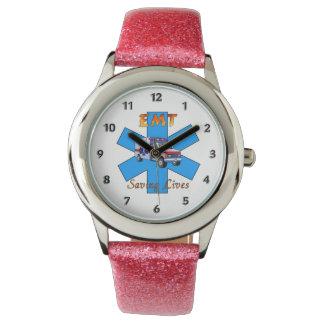 EMT Saving Lives Wrist Watch