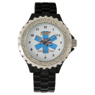 EMT Saving Lives Wristwatch