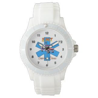 EMT Saving Lives Wristwatches