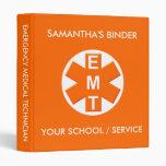 EMT School or Service Binder 2