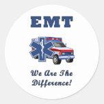 EMT somos la diferencia Pegatina Redonda
