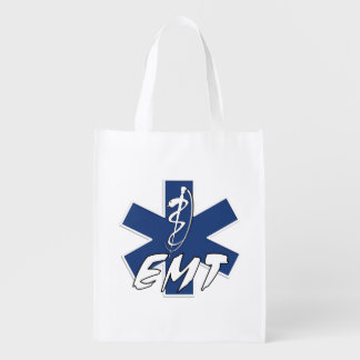 EMT Star of Life Active Grocery Bags