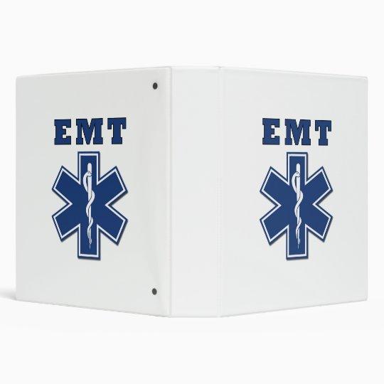 EMT Star of Life Binder