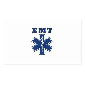 EMT Star of Life Business Card