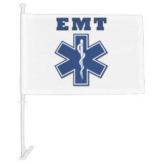 EMT Star of Life Car Flag