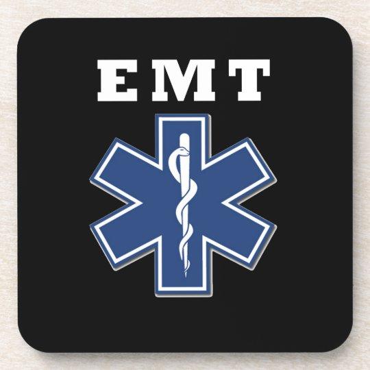 EMT Star of Life Drink Coaster