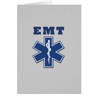 EMT Star of Life Greeting Card