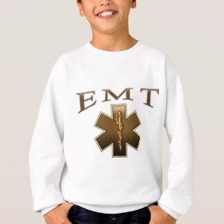 EMT - Star of Life in Brown Sweatshirt