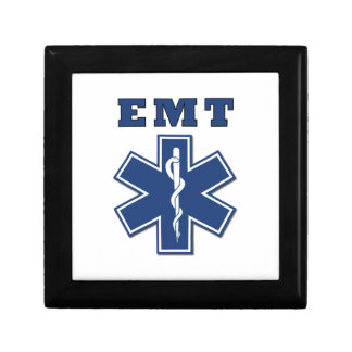 EMT Star of Life Jewelry Box