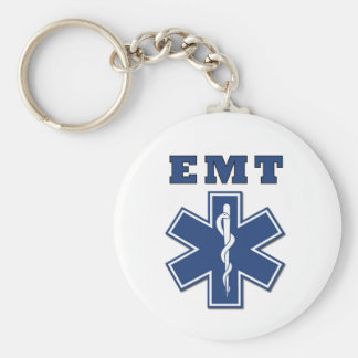EMT Star of Life Keychain