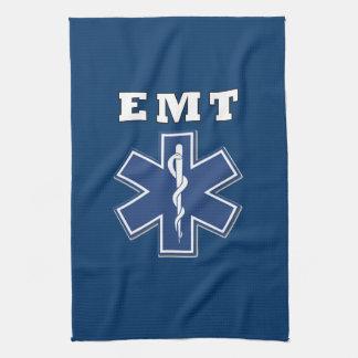 EMT Star of Life Kitchen Towel